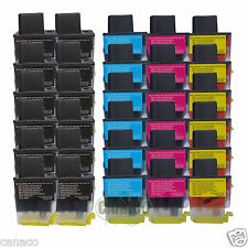 30 Pack LC41 Compatible ink cartridge for Brother MFC-210C MFC-420CN MFC-620CN