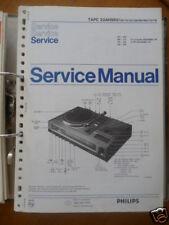 Philips Manual de servicio tapc 22Ah 982 Sistema de alta fidelidad, original