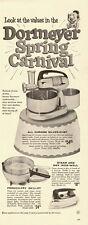 1955 vintage ad, DORMEYER 'Spring Carnival' Silver-Chef Chrome Mixer-040113