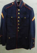 USMC US MARINE CORPS ENLISTED DRESS BLUES UNIFORM TUNIC JACKET #5090