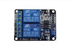 5V 2 Channel Relay Module Relay Expansion Board With Optocoupler Protection