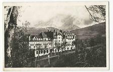 France - Combloux, L'Hotel P.L.M. et le Mont Blanc - Vintage Real Photo postcard