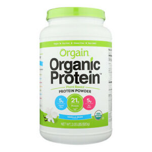 Organic Protein Plant Based Vanilla Bean 2.03 lbs