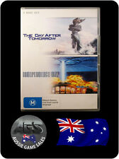 The Day After Tomorrow + Independence Day (DVD, VGC, FAST POST)