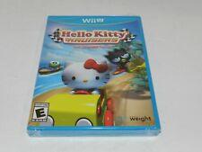 Hello Kitty Kruisers Nintendo Wii U Original Game Brand New Factory Sealed