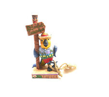 Jim Shore Margaritaville Its 5:00 Here Parrot by Sign Post Figurine 6001072