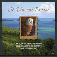 St Vincent & Grenadines 2018 MNH Caribbean Parrots Parrot 1v S/S Birds Stamps
