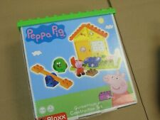 NEW SEALED Peppa Pig Garden House Building Blocks Set BIG Bloxx Action Figure