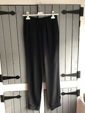 Womens French Connection Size 8 Black Jogger Trousers