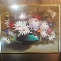 """Vintage Print By Madeleine Lemaire 16"""" x 20"""" Peonies Flowers Madeline"""