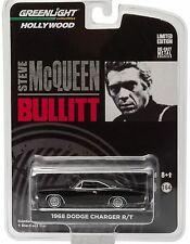 BULLITT `68 Dodge Charger R/T  Black 1968  ***** Greenlight 1:64 OVP