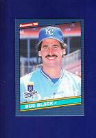 Bud Black 1986 Donruss Baseball #374 (MINT) Kansas City Royals
