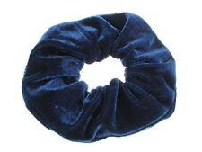 Navy Velvet Scrunchie Hair Accessories UK