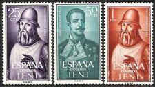 SPANISH COLONIES IFNI 1962 CHILD WELFARE TENORIO FERNANDEZ DURO 187 - 189 MNH