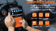 OBD2 Automotive Scanner Foxwell NT614 Engine ABS Airbag SRS Transmission Oil EPB