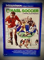 NASL SOCCER - Vintage 1979 Mattel Intellivision - Complete Video Game