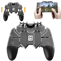 Mobile Controller Key AK66 Fire Button 6 Joystick Finger Gamepad For PUBG Video