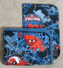 TODDLER/TWIN BLANKET & PILLOW COVER - THE ULTIMATE SPIDERMAN IN ACTION