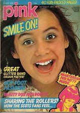 Pink Magazine 18 October 1975 No 134    Glitter Band   Smokey   Bay City Rollers