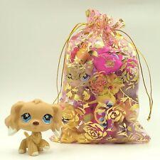 11Pcs Littlest pet shop cocker spaniel rare dog 748+10 LPS pets lot kids gift