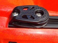 2 Pack Harken Pulleys for Slidetrax Slide Rail Wilderness Kayak Anchor Trolley