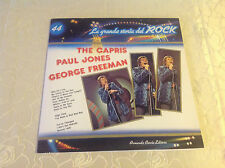 "LA GRANDE STORIA DEL ROCK 44 (LP) ""THE CAPRIS/ PAUL JONES/ GEORGE FREEMAN"" M-"