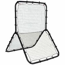 Baseball Softball Rebounder Throw Pitch Back Training Net,Durable Screen Youth