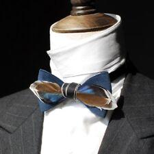 Novelty Real Feather Bow Tie Men's Bowtie Necktie