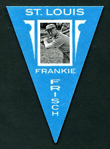 2012 Panini Golden Age #9 Frankie Frisch St.Louis Banderole Carte Ex jh20
