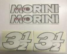 Moto Morini 350  3 ½ serie ADHESIVE decalcomanie adesivi decals stickers