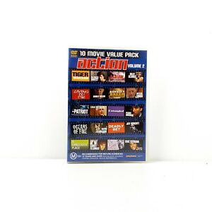 10 Movie Value Pack Action Volume 2 DVD - FREE POST