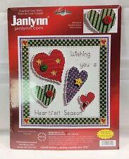 Janlynn 'Heartfelt Season' Counted Cross Stitch Kit 098-0019 Christmas 2003 NOS