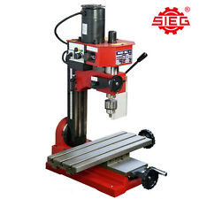 SIEG SX1-L Milling Machine 400mm x 145mm Long Table, Tiltable Column Mill Drill