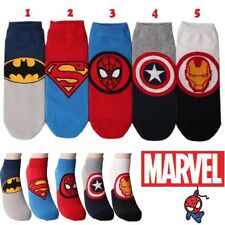Pack of 5 pairs Mens Marvel Comics Super Hero Licensed Character Casual Socks