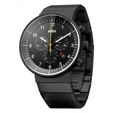 New Braun Gents Prestige Chronograph Stainless Steel Watch BN0095
