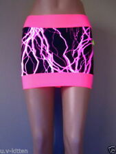 Nylon Mini Mini Skirts for Women