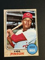 F63058  1968 Topps #90 Vada Pinson REDS