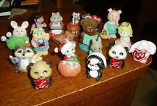 Vtg. Hallmark 14 Merry Miniatures, 1 Hallmark Ornament, 1 Enesco Bear & 1 Russ A