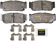 Disc Brake Pad Set-Total Solution Semi-Metallic Brake Pads Rear Monroe DX954
