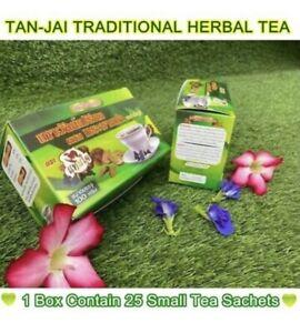 Thai Herbal Tepee Tea Natural Organic Java tea Kidney tea - 25 Small Tea Bags