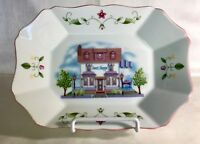 "The Lenox Village 9"" Candy Tray"