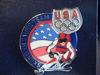 Team USA Olympic Pin - Skiing