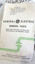 GE Contact Kit 1P 1 Pole Size Bag of Contacts From Kits #546A301G1