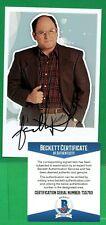 Jason Alexander  3x5 Pic/card Signed Auto Autograph BAS Becket Certified