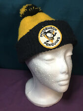 Pittsburgh Penguins Ice Hockey Beanie Winter Knit Hat Classic Coca-Cola