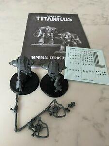 2 Cerastus Knights for Adeptus Titanicus Horus Heresy Warhammer 40k 30k