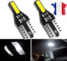 2 Veilleuses LED ampoule led W5W T10 7020 BLANC XENON 6000k 2 LED