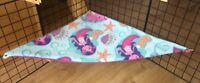 Mermaid Fleece Guinea Pig / Rat /SMALL PET, Corner Hammock