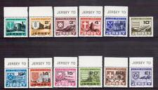 JERSEY 1978 postage dues set MUH