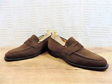 New Church's Brown Suede Custom Grade Hertford Loafers UK 7.5 US 8.5 EU 4.5 F